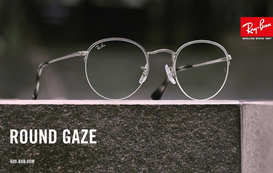 c9f121076627dc Ray-Ban Round Gaze bril  een nieuwkomer in de familie